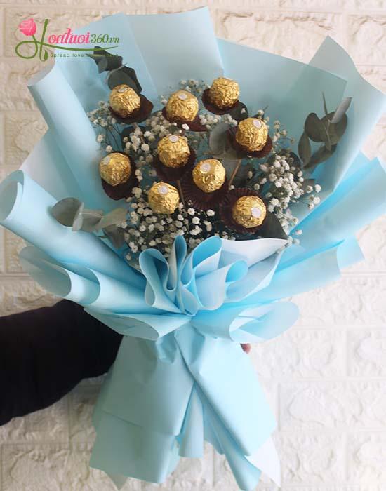 Bó hoa tặng bạn gái ngày 8/3 ngọt ngào