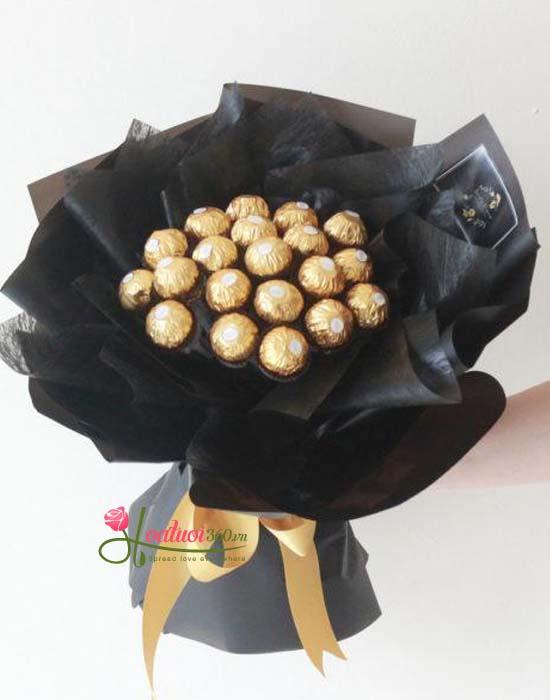 Bó hoa socola độc đáo tại Hoa Tươi 360