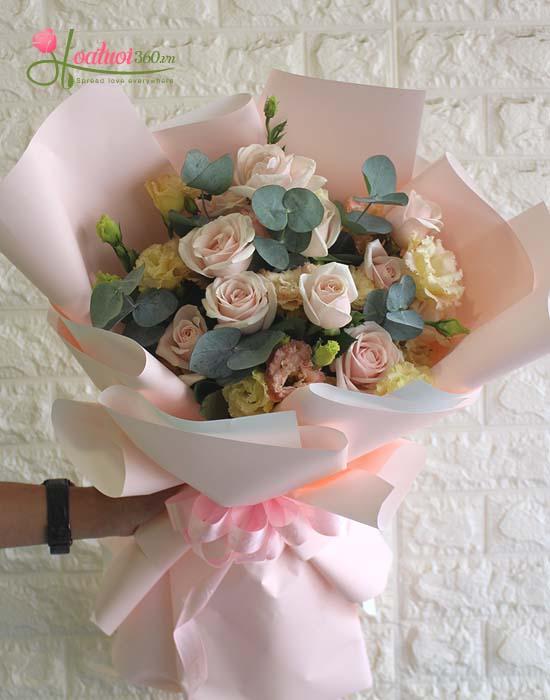 Bó hoa tặng vợ ngày 8/3 mãi mãi bên nhau