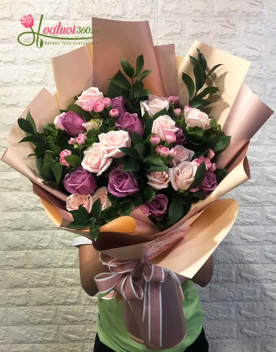 Bó hoa tươi mừng sức khỏe - Phong cách mới