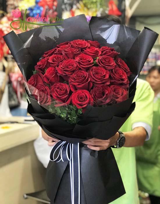 Bó hồng Ecuador nét đẹp sang trọng