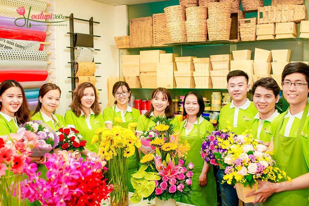 Hoa tươi 360 là địa chỉ hoa sinh nhật uy tín