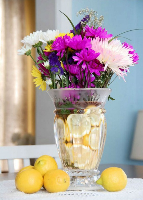 Cách giữ hoa tươi lâu trong bình