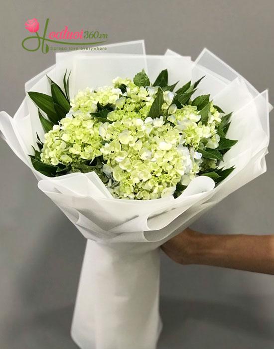 mẫu hoa bó tình nhân ngày valentine ngọt ngào