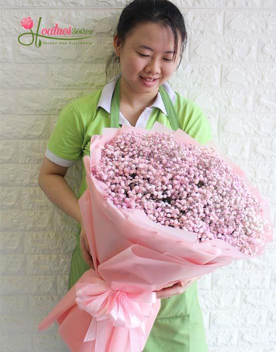 Hoa baby hồng tượng trưng cho sự ngọt ngào